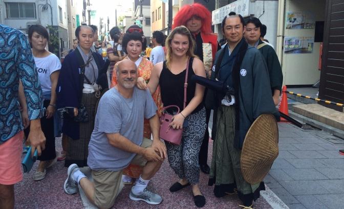 Tokyo Flea Markets and Martial Arts